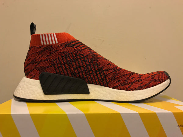 bc75ed37231 ... Adidas NMD City Sock CS2 Future Glitch Tiger Red BY9406 ...