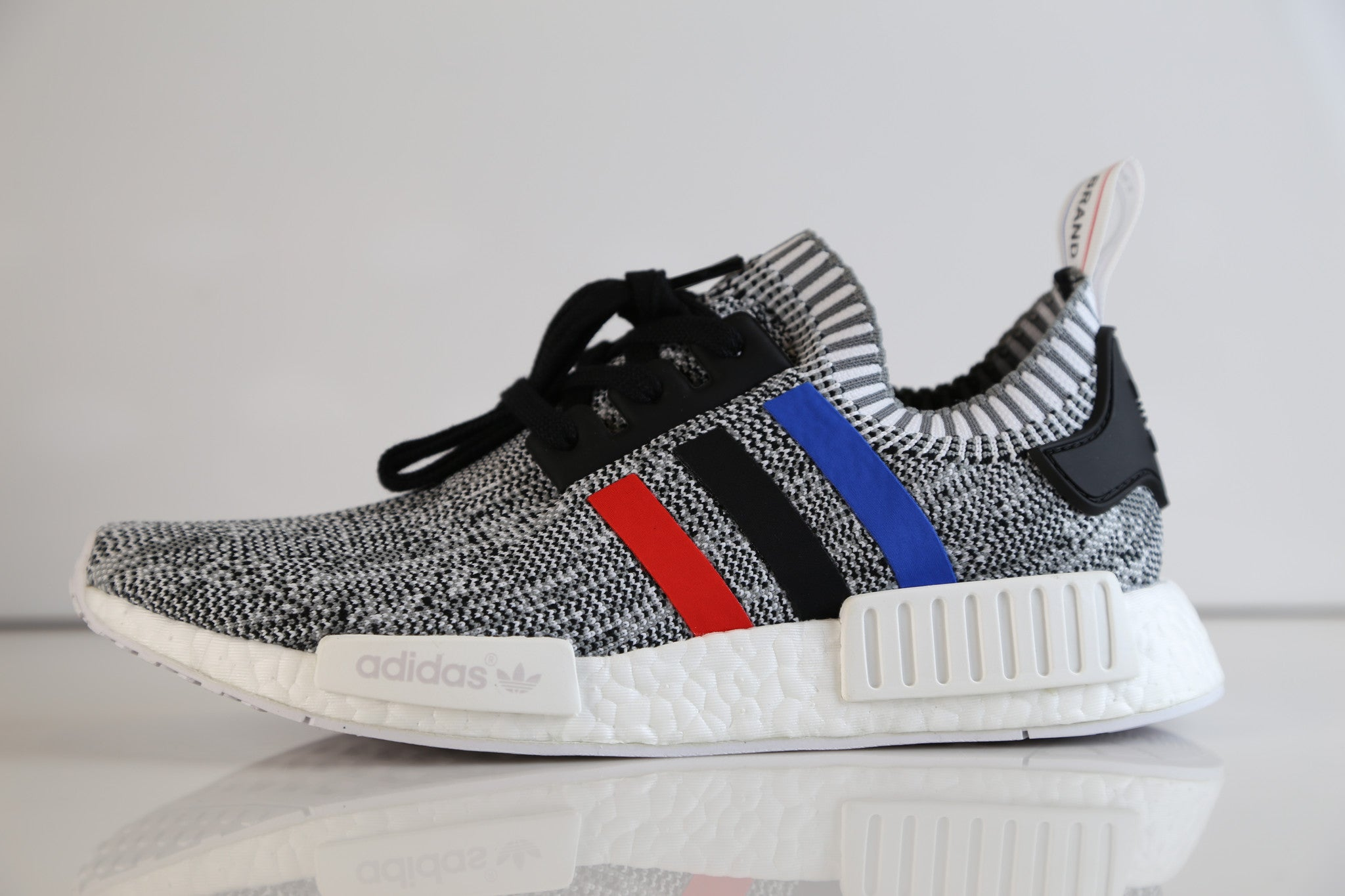 brand new b76c0 280bd Adidas NMD R1 PK Prime Knit Tri Color White BB2888 | Zadehkicks