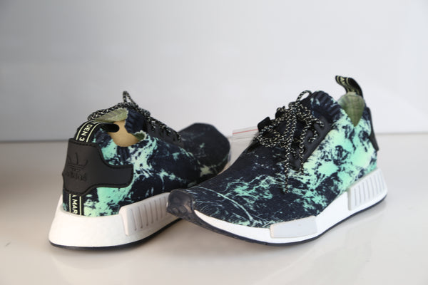 finest selection 93af7 3b71f Adidas NMD R1 PK Energy Marble Aero Green BB7996 | Zadehkicks