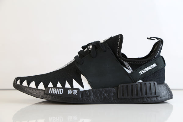 Adidas X Neighborhood NMD R1 PK NBHD Black White DA8835 (NO Codes)