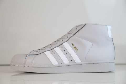 Adidas Originals Pro Model Light Grey White CG5073