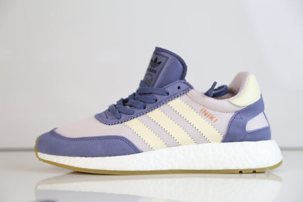 Adidas Originals Womens Iniki Runner W Super Purple Cream Gum BA9995