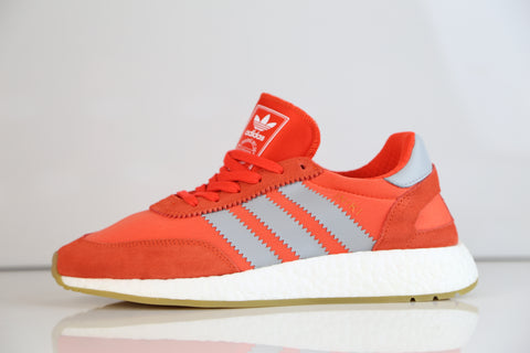 Adidas Originals Womens Iniki Runner W Energy Red Orange Gum BA9998