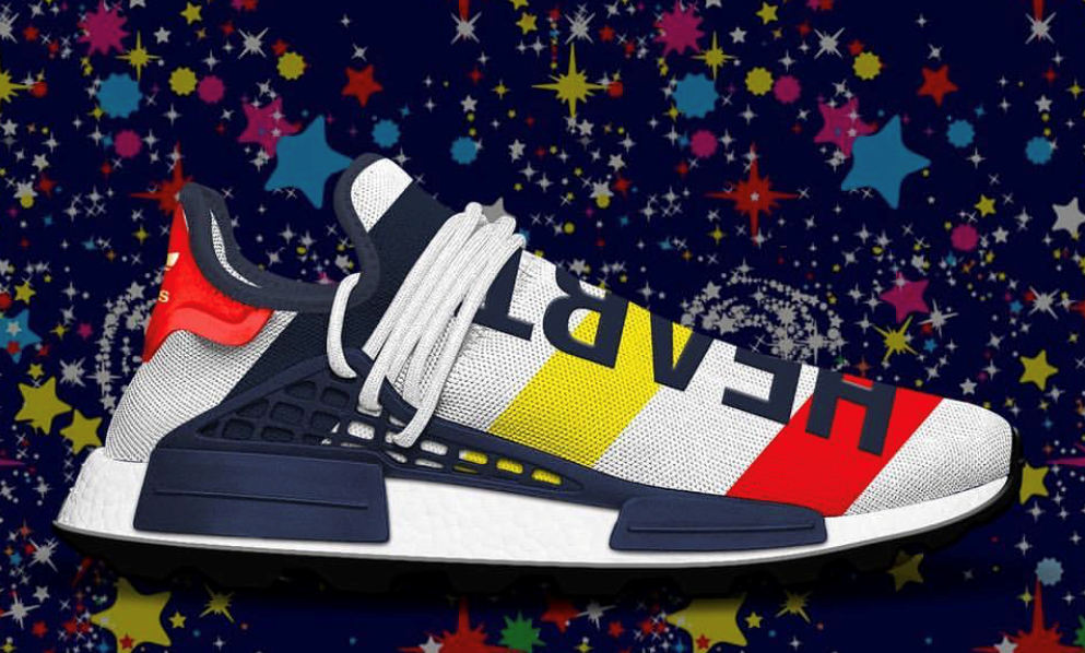 43646f1f6 Adidas PW Pharrell Williams BBC HU NMD Heart Mind Very Limited PRE ORD