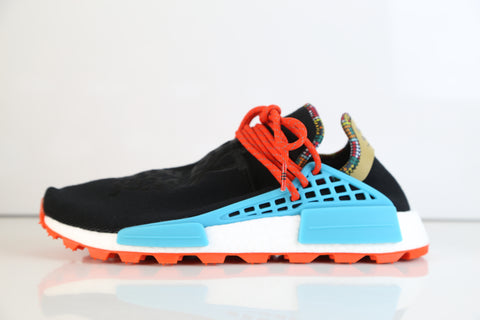 pretty nice 16668 e31a2 Adidas Pharrell Williams Human Race Hu NMD Solar Inspiration Black EE7582