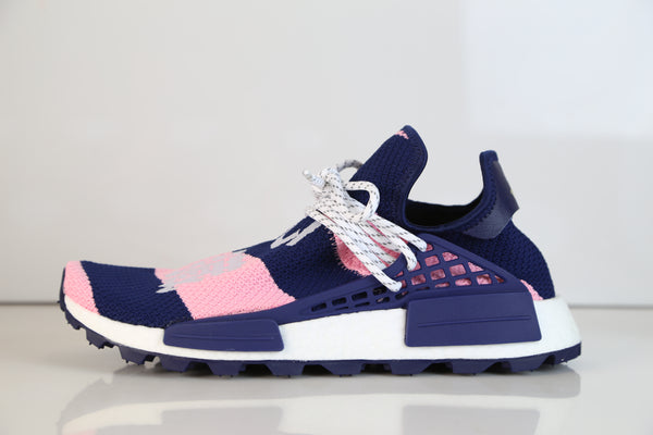 Adidas Pharrell Williams PW X BBC Exclusive HU NMD Core Pink Blue G26277