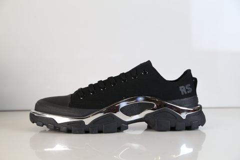 classic fit 2e5a8 e5ea2 Adidas RS Raf Simons Detroit Runner Core Black Chrome F34243