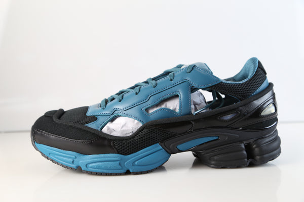 Adidas Raf Simons Replicant Ozweego Core Black Colonial Blue BB7986