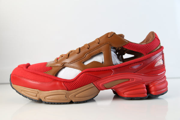 Adidas Raf Simons Replicant Ozweego Scarlet Red Rust Brown BB7987
