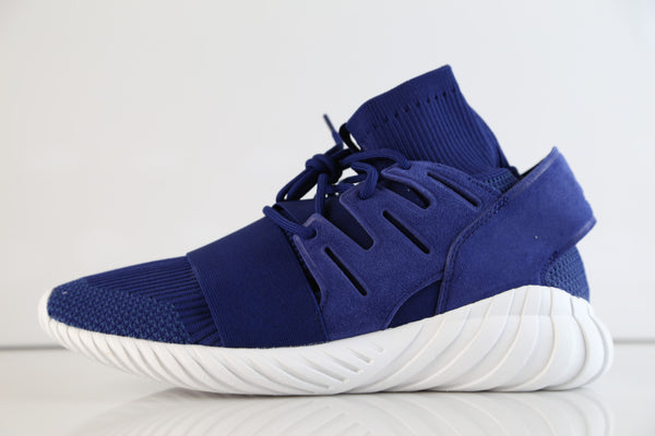 Adidas Tubular Doom PK Dark Brown Deep Blue S80103