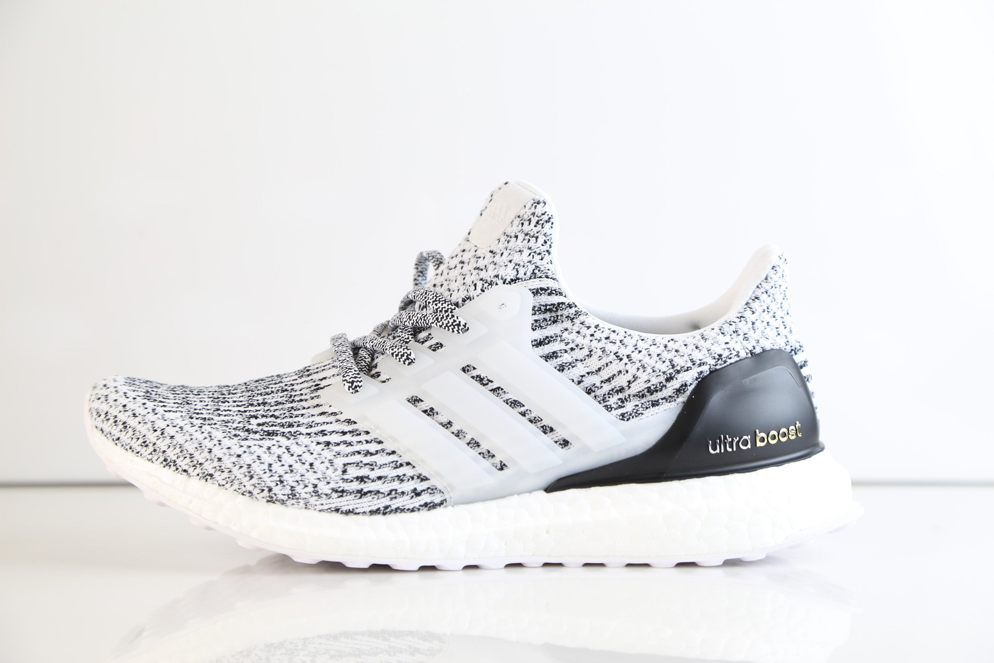 7af3a35500c06 Adidas Ultra Boost 3.0 Oreo White Black S80636