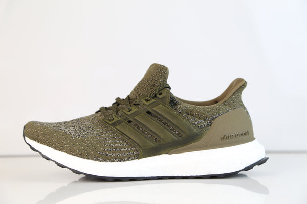 Adidas Ultra Boost PK Leather Trace Olive S82018