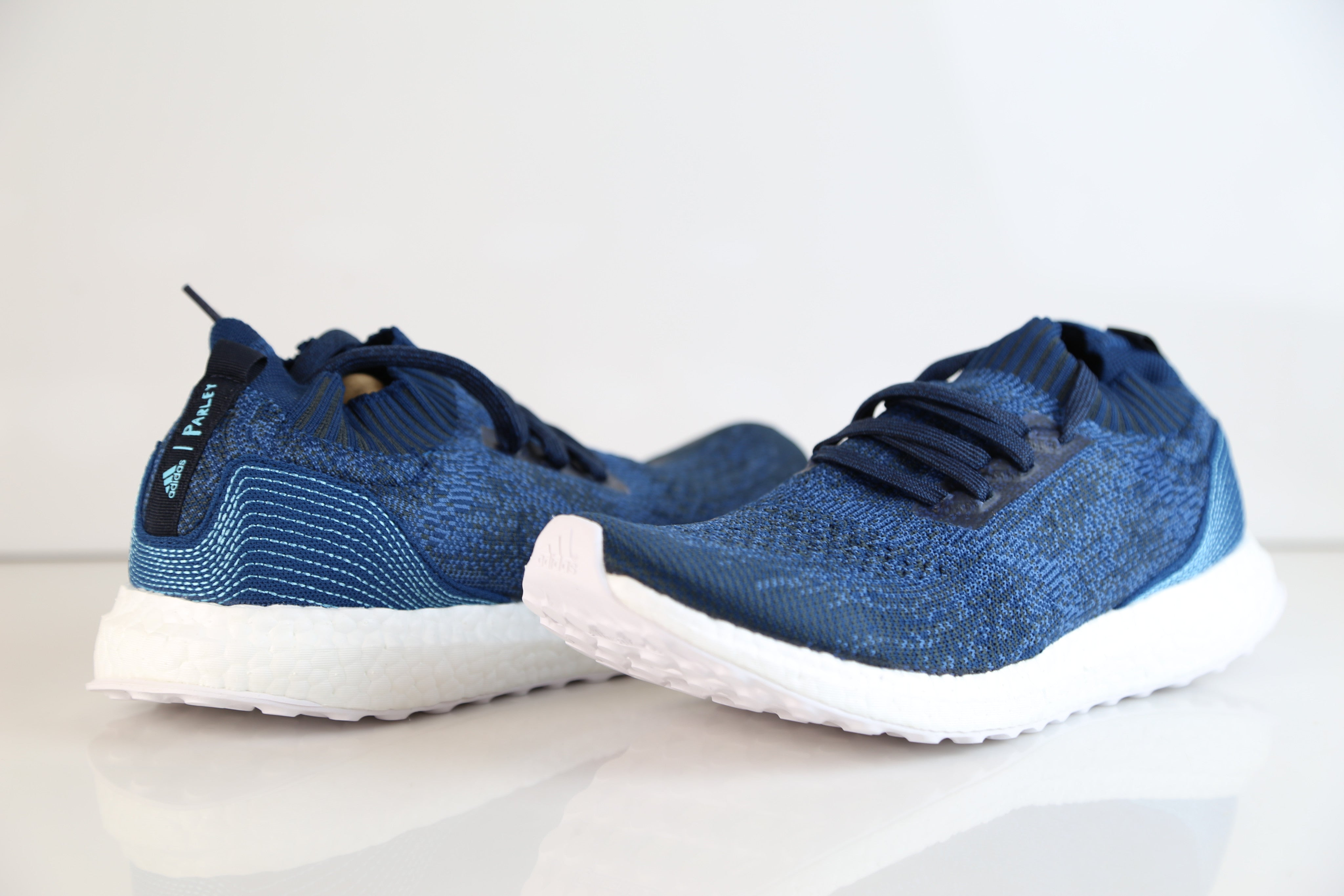 6b0b05eacfdb5 Adidas Ultra Boost Uncaged Parley Legend Blue Core BY3057