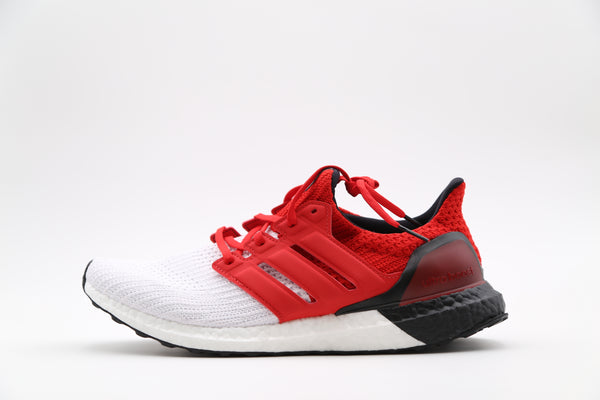 Adidas Ultraboost M White Scarlet Red G28999