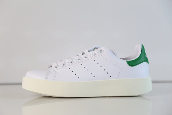 Adidas Womens Stan Smith Bold W White Green S32266