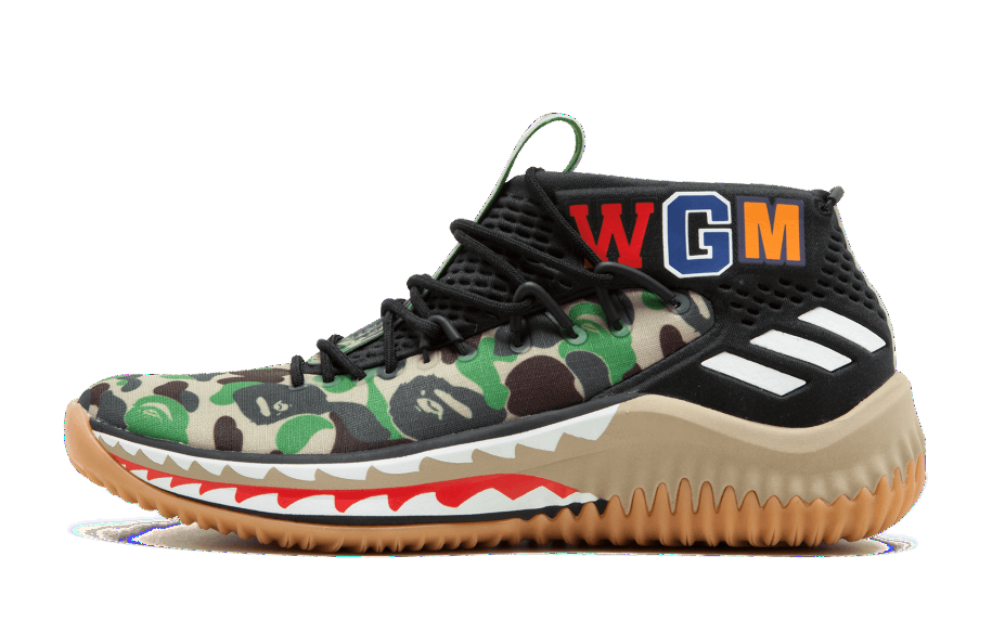 big sale 7844e 718be Adidas A Bathing Ape Dame 4 Bape Green Camo AP9974 (NO Codes)  Zadehkicks
