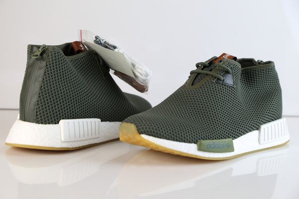 Authentic adidas Mens NMD C1 TR 'Winter Chukka' Gray Tan