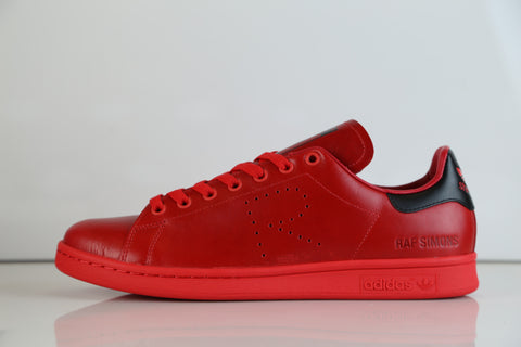 Adidas X Raf Simons Stan Smith Red Black BA7377