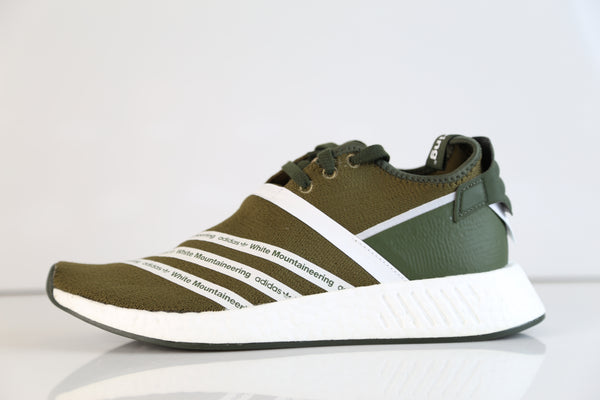 0b457499d6f97 Product Image Adidas X White Mountaineering WM NMD R2 PK Boost Olive CG3649  ...