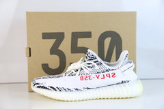 Adidas Yeezy By Kanye West 350 V2 Zebra White Grey Red CP9654 (NO Codes)