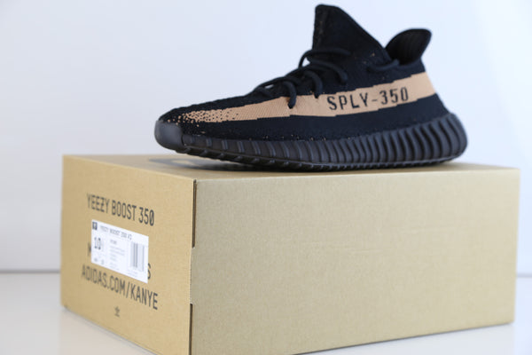 Yezzy Boost 350 v2 Black Copper BY 1605 Review Unboxing
