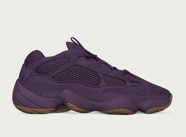 Adidas Yeezy by Kanye West 500 Desert Rat Season 7 Ultraviolet - BONUS