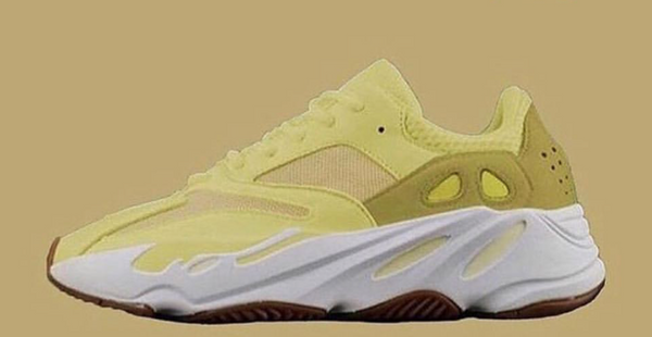 Adidas X Kanye West Yeezy Boost 700 Semi Frozen Yellow 2019 - XMAS