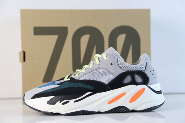 Adidas Yeezy Boost Wave Runner 700 Solid Grey White Core Black 2018 B75571