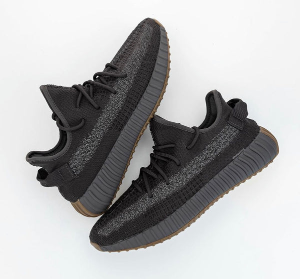 Adidas Yeezy Boost 350 V2 Black Gum Brown (Cinder) RF REFLECTIVE Version - BONUS