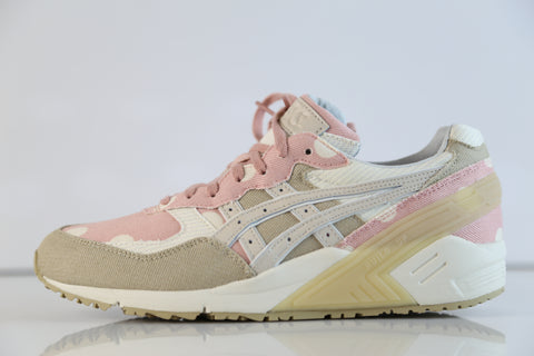 Asics Womens Gel-Sight Japanse Denim Latte Cream Pink H7B5N 0500