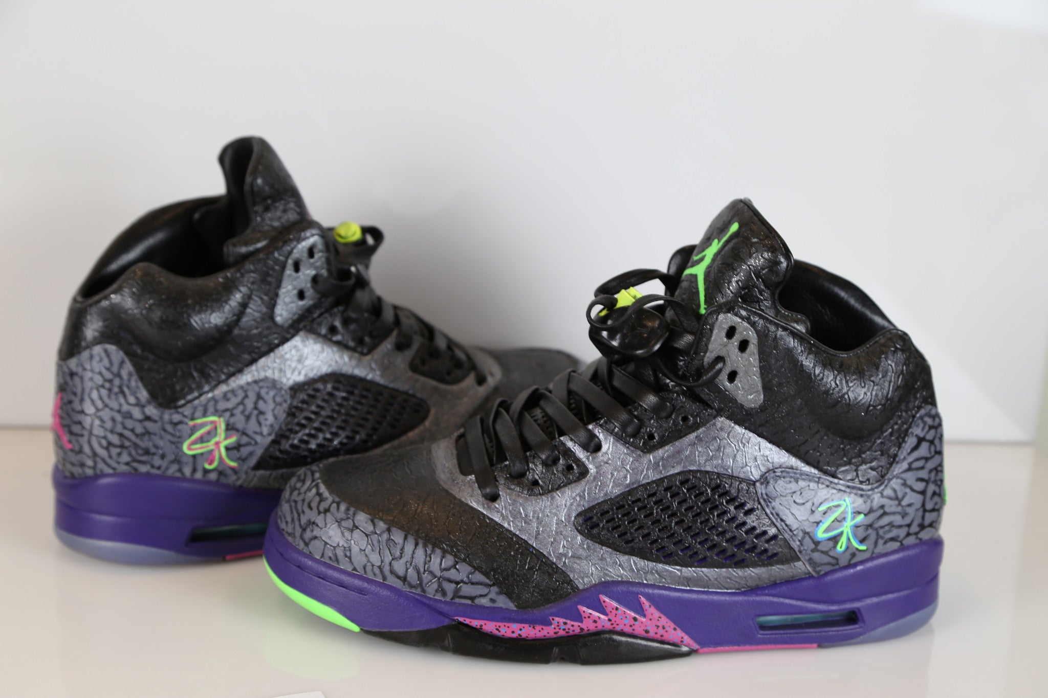 best loved 995e7 18679 Custom Nike Air Jordan Bel Air Lab 5 10 | Zadehkicks