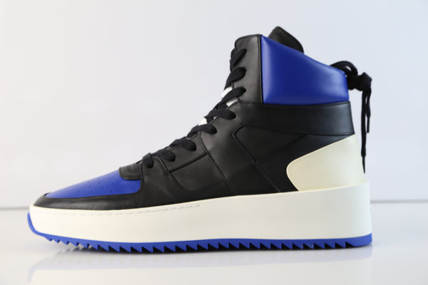 Fear of God BBall Sneaker Black Royal Blue