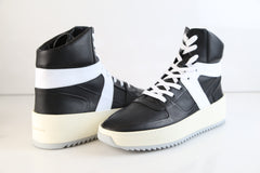 Fear of God FOG Basketball Sneaker Black White Made in Italy