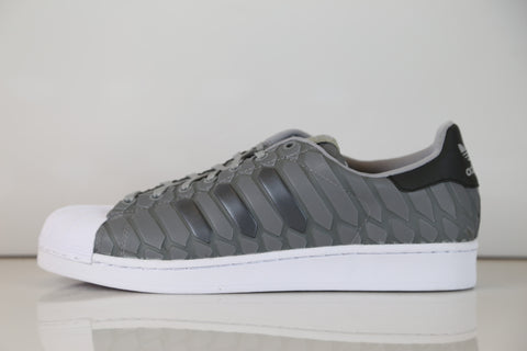 Adidas Superstar Xeno Light Onyx Grey 3M Reflective Snakeskin D69367