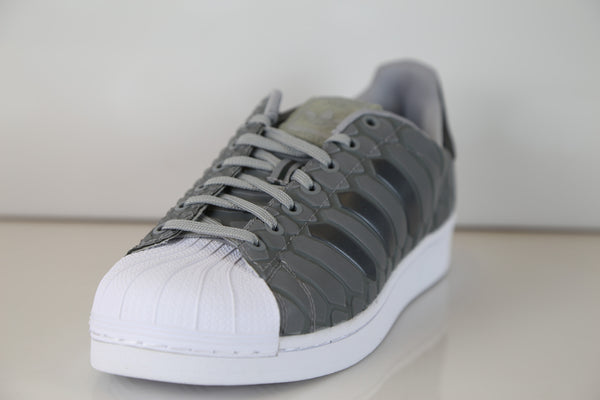 805fcdd97 ... sale adidas superstar xeno light onyx grey 3m reflective snakeskin  d69367 81a7f b53c2