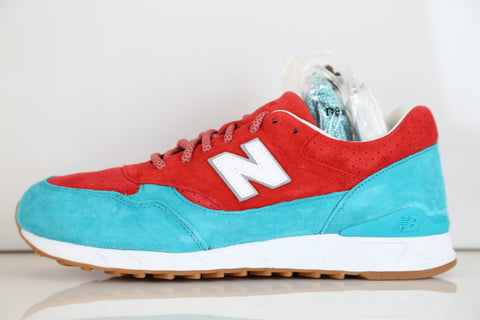 New Balance X Concepts 496 Regatta Pool Blue