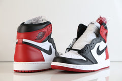 Nike Air Jordan Retro 1 High OG Black Toe 2016 555088-125 Adult and GS (NO CODES)