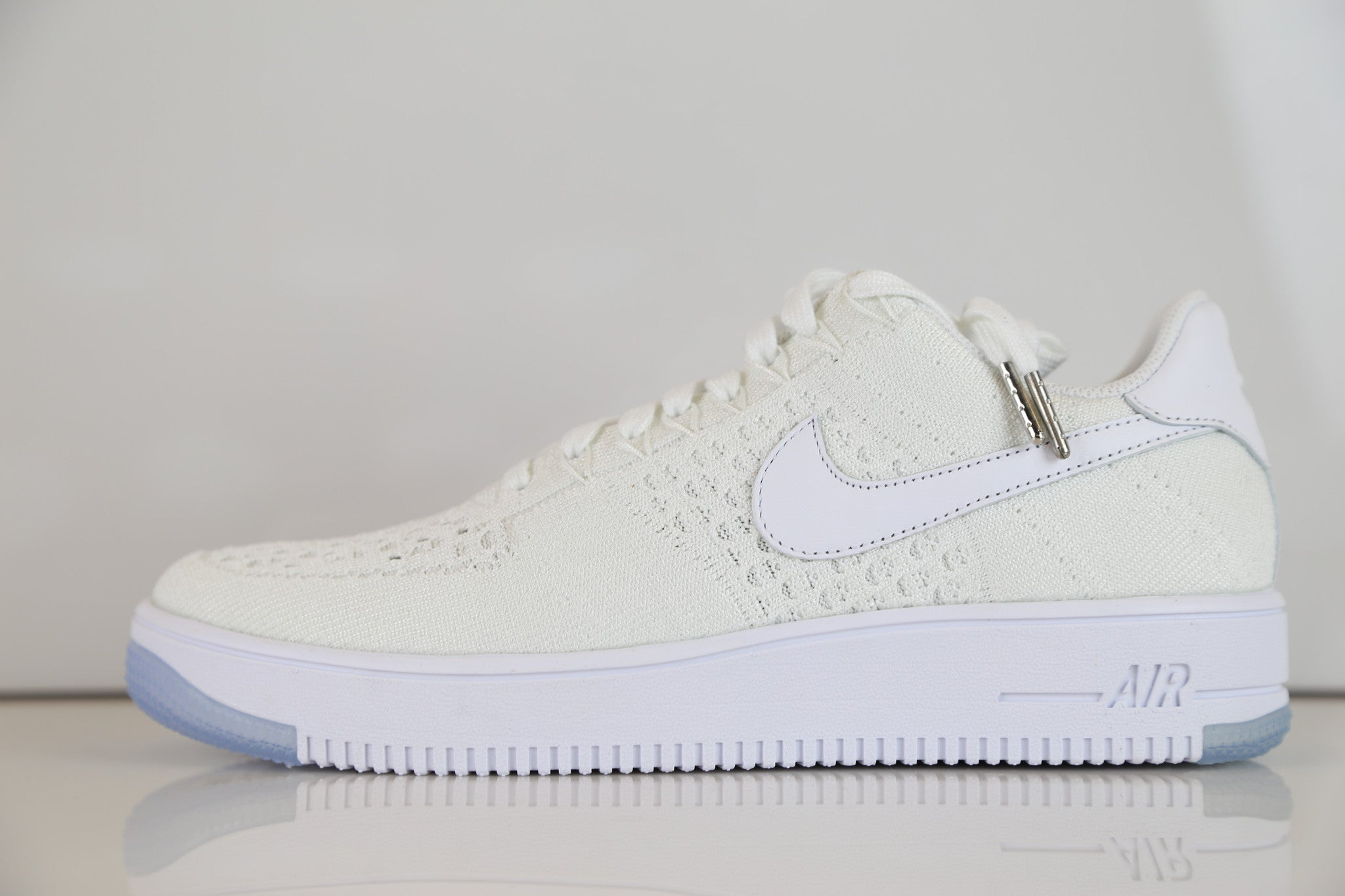 1bfe38a5b3 Nike AF1 Ultra Flyknit Low Air Force White 817419-100 | Zadehkicks