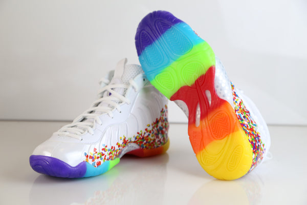 a402c4b21dc2 ... Nike Lil Little Posite Pro Fruity Pebbles 2.0 White 644792-101 PS and GS  1 ...