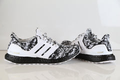 Custom Adidas Ultra Boost 2.0 White Black Arteeest