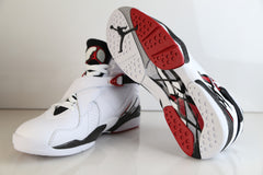 Nike Air Jordan Retro 8 Alternate White Red 2017 305381-104  Adult and GS PRE ORDER (NO Codes)