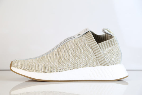 Adidas X Kith X Naked Consortium City Sock NMD C2 PK Tan BY2597
