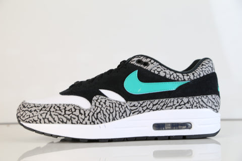 Nike Air Max 1 X Atmos 2017 Premium Retro Grey Jade QS 908366-001 (NO Codes)