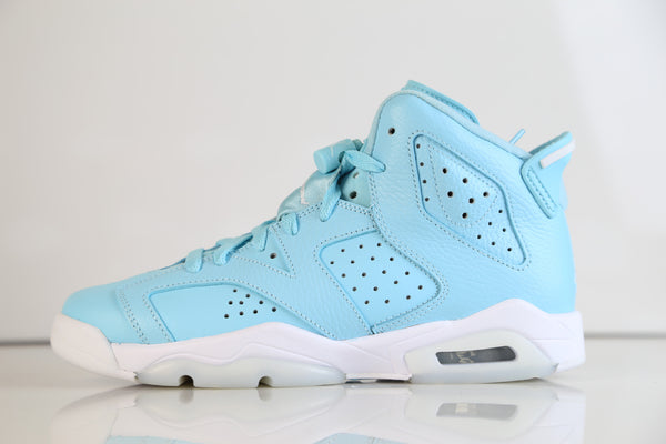 Nike Air Jordan Retro 6 Pantone Still Blue GG GS 543390-407 2017 (NO Codes)