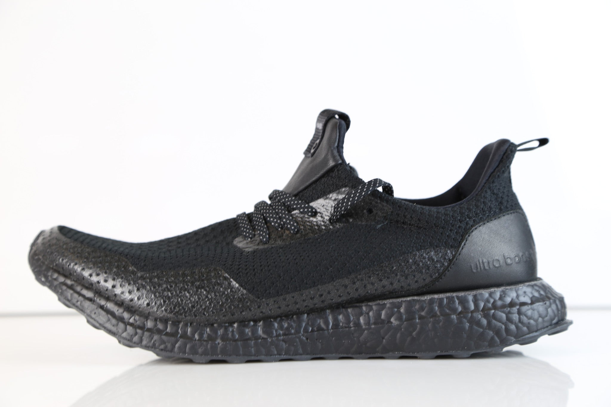 1ce96fdd9507f Adidas Consortium X Haven Ultra Boost Uncaged Triple Black BY2638 ...