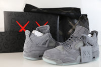 Nike X Kaws Air Jordan Retro 4 Cool Grey 930155-003