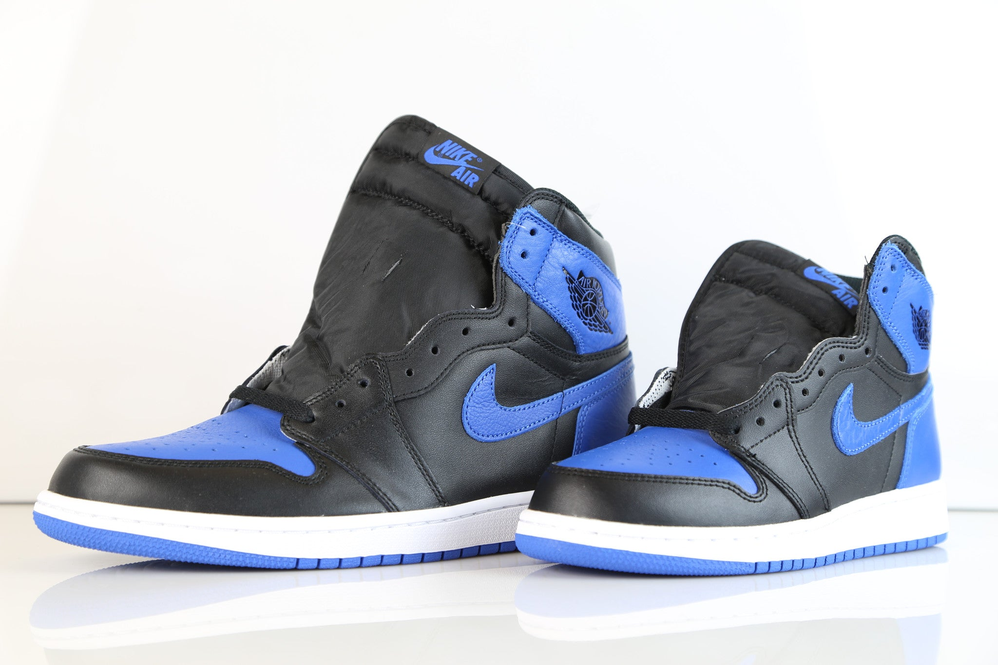 detailed look fc3fc 2f943 Nike Air Jordan Retro 1 High OG Black Royal Blue 2017 555088-007 Adult    Zadehkicks