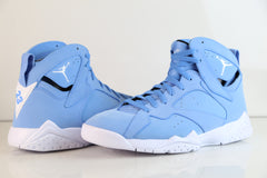 Nike Air Jordan Retro 7 (Pantone) University Blue White Black 304775-400 Adult and GS (NO Codes)