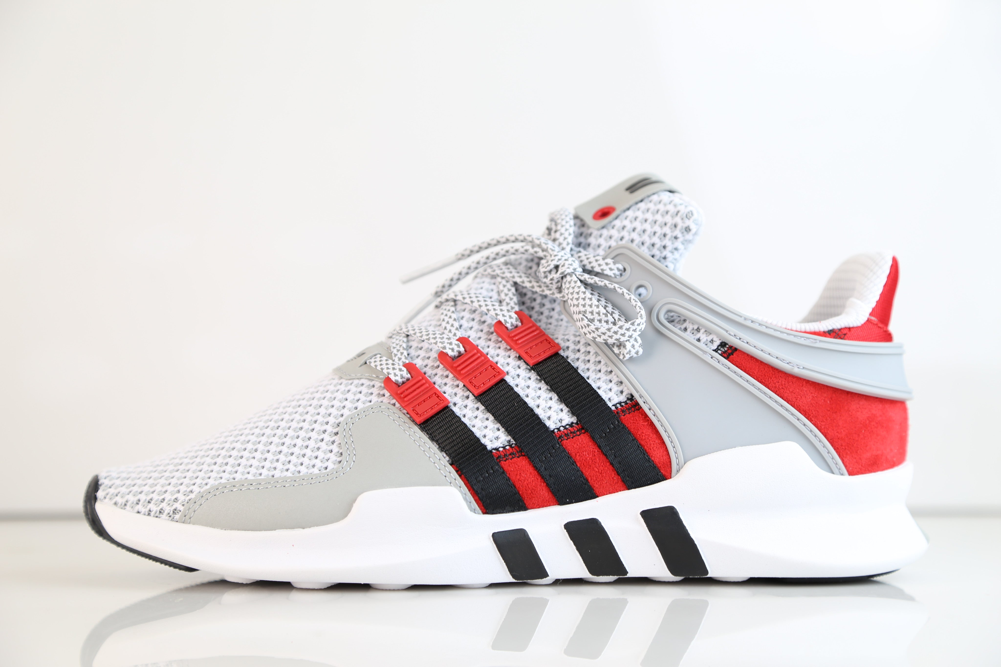 d2b5f49df7a2 Adidas Consortium X Overkill Coat of Arms EQT Support ADV White Black