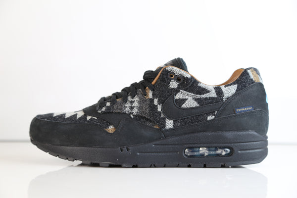 Nike Air Max 1 Pendleton PND QS Black 825861-004